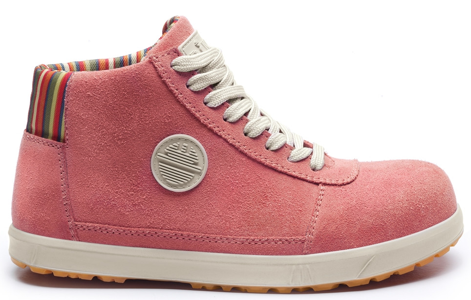 Lady D Womens Safety Boot in Pink, Blue or Grey