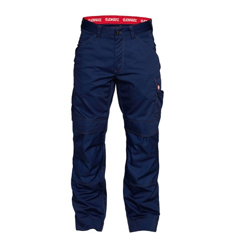 Combat work trousers in navy