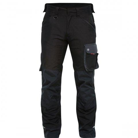 Black galaxy work trousers