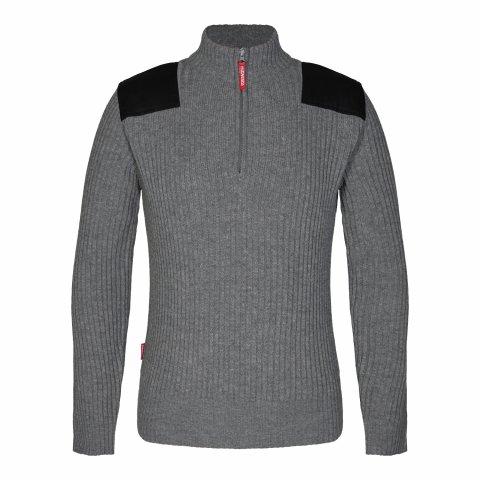 Combat Knit Jumper Light Grey