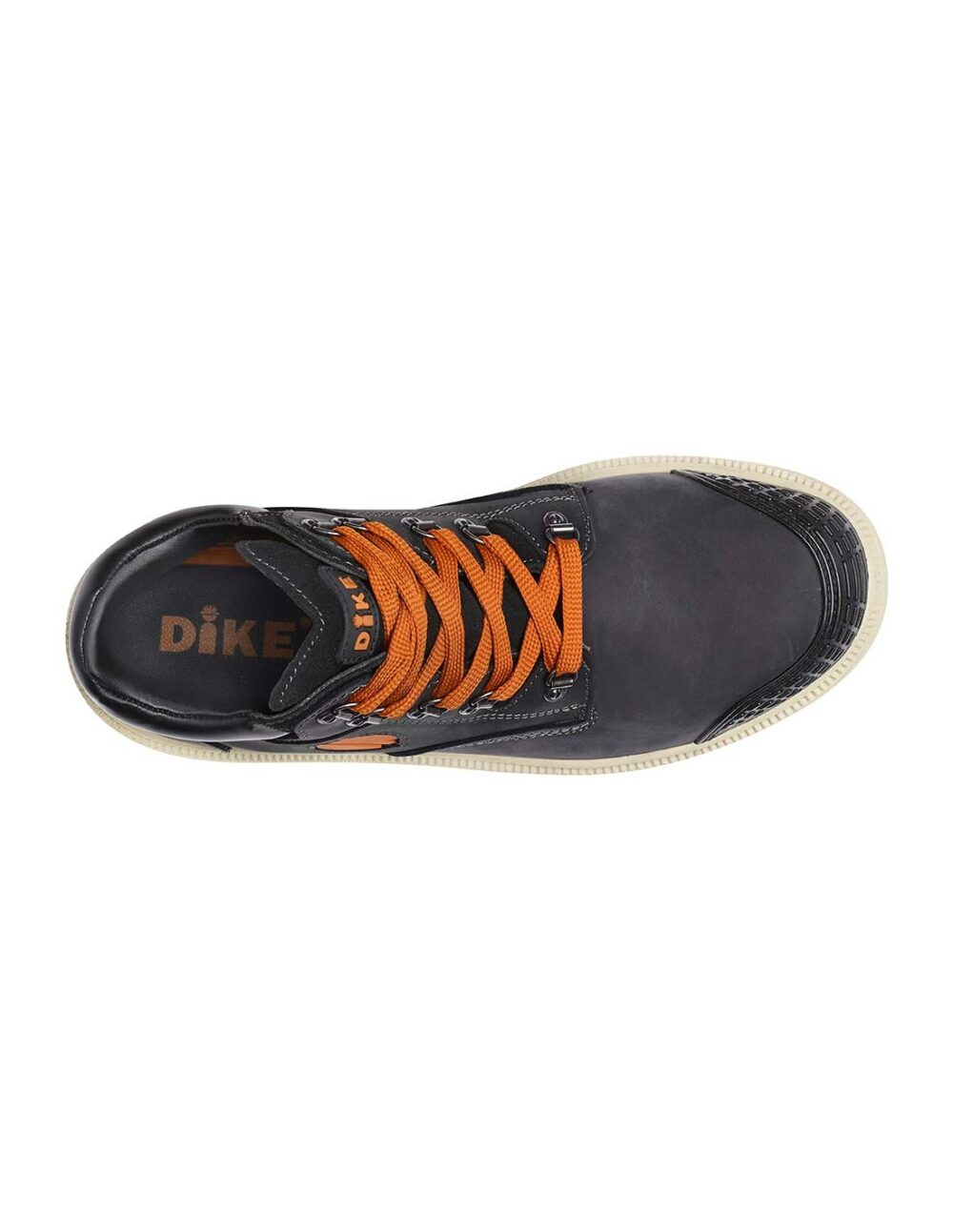 Black digger safety boot by dike