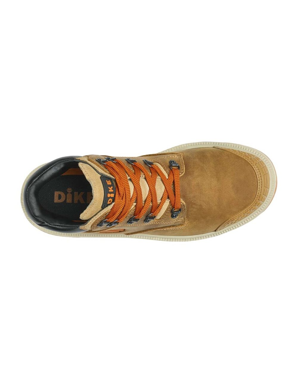 Brown digger safety boot by dike