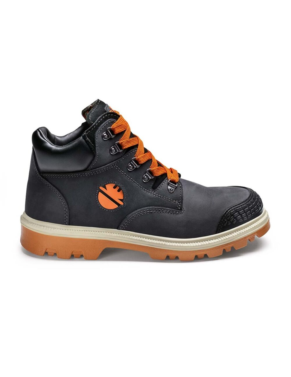 Digger Safety boot in black by dike