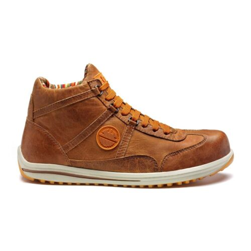 Raving Safety brown boot by dike