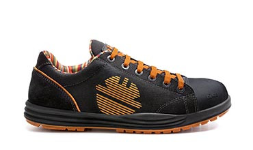 Leather Glider Safety Shoe