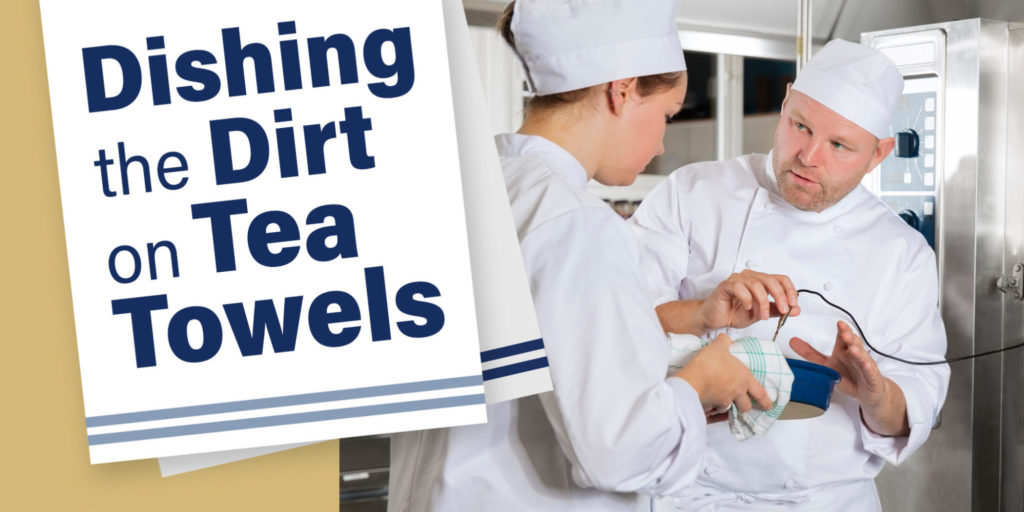 Dishing the dirt on tea towels