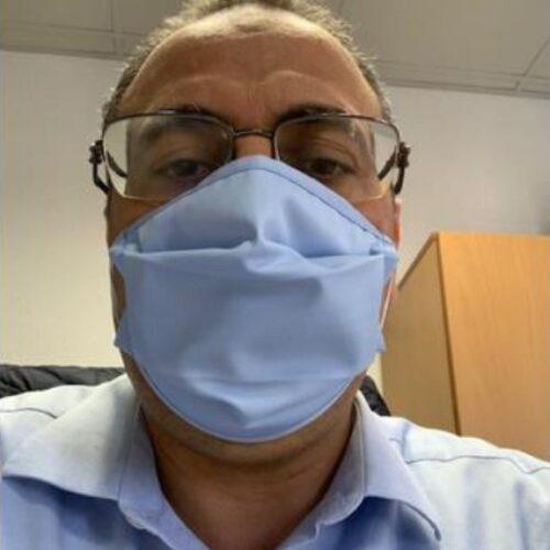 Service Matters Blue Face Masks