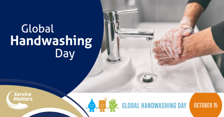 Graphic to promote global hand washing day