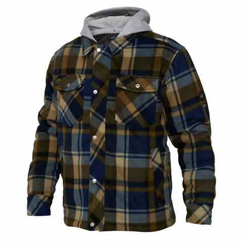 Checked Fleece Jacket