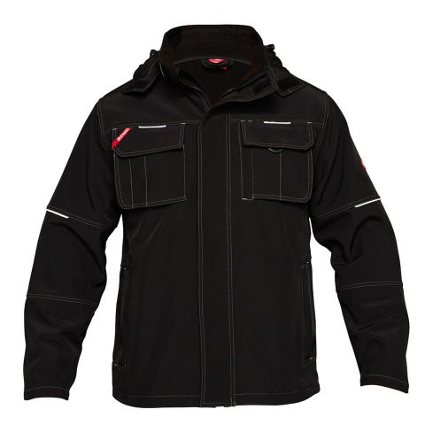 Combat Black Soft Shell Jacket