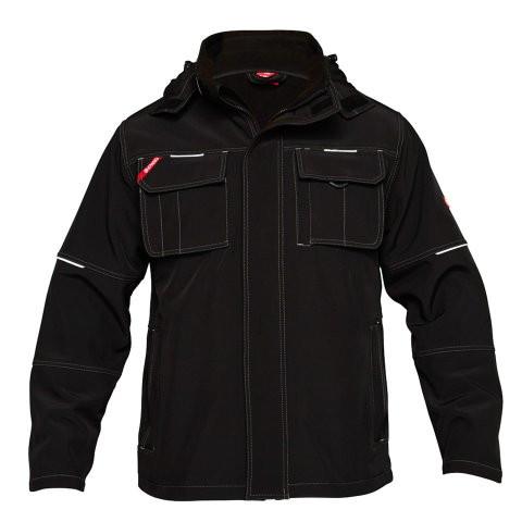 Combat Black Soft Shell Jacket